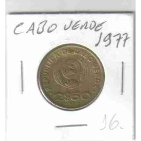 8596 Moeda Cabo Verde ( 2$50 ) 1977 - 25mm