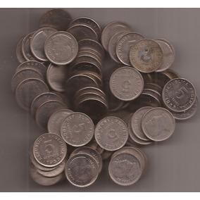 1 Kilo De Moneda Argentinas De 5 Centavos San Martin 1950-56