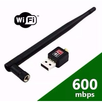Adaptador Wireless Usb Wifi Receptor 600mbps Frete 12 Reais