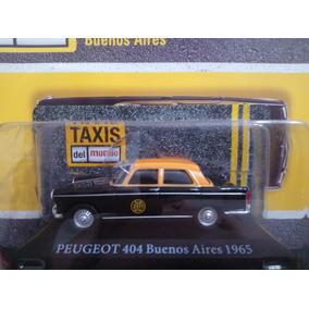 Peugeot 404 Taxi De Buenos Aires 1/43. Predator01