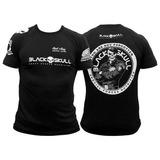 Camiseta - Tamanho G - Black Skull - Melhor Custo Benefício
