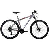 Bicicleta Audax Adx 100 Mtb 29er 2017 Altus 27v Cinza Tam 15