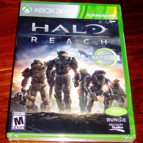 Videojuego Halo Reach Platinum Hits Español Xbox 360 One