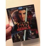 Blu Ray : Star Wars Rebels : Temporada 3 Completa