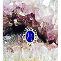 Anillo De Plata Ley 925 Cristal De Roca