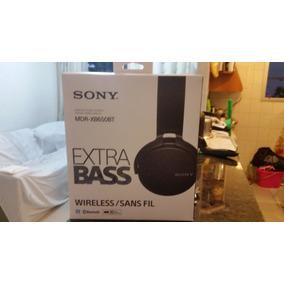 Fone Sony Mdr-xb650bt Extra Bass Bluetooth Wireless.