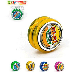 500un Ioio (yoyo) Super Series Speed Color Com Luz A Bateria