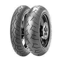 Combo Pneu Moto Pirelli Diablo 120/70-17 + 160/60-17
