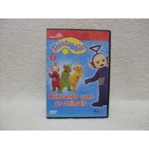 Dvd Original Teletubbies- Brincando Com Os Animais