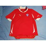 Camiseta Selección De Chile Perfecto Estado Puma Original Xl