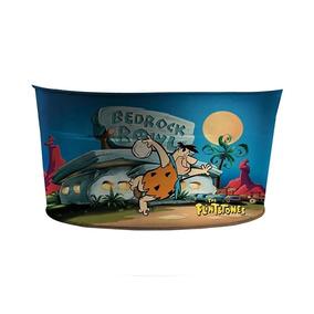 Balde De Gelo Oval De Metal - Hanna-barbera - Flintstones -