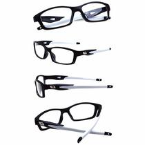 Armação Óculos Grau Acetato Esportivo Masculino Flexivel Ea