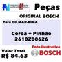 Peças De Reposição Original Bosch P/ Gilmar-bima
