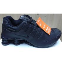 Nike Shox Deliver Classic Masculino 4 Molas Couro Caixa