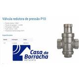 Válvula Reguladora Redutora De Pressão Água Modelo P-10 P10