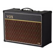 Amplificador Guitarra Vox Ac15vr Pre Valvular Combo 15 W