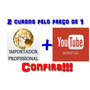 Curso De Importador Mais Vídeo De Marketing You Tube + Bonos