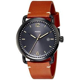 0bf728ffe1f1 Reloj Fossil Hombre Modelo Viajero Retro Rojo Envío Gratis - Relojes ...