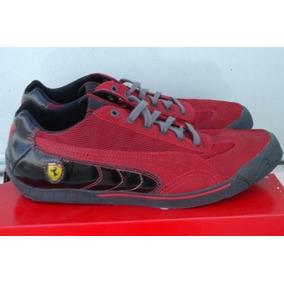 Tenis Puma Ferrari Speed Cat 2.9 Rojo/negro Hombre Talla 28