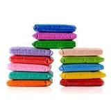 Areia Colorida Quartzo Nobre 10 Pacotes De 950g