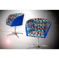 Poltrona Afrodite - Palito - Giratória - Cadeira Decorativa