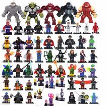 Bonecos Para Montar Heróis Marvel Dc Vingadores Liga Justiça