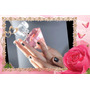50 Souvenir Perfume Diamante Manzanitas Cumple 15 Años Bodas