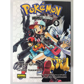 Manga Pokemon Negro Y Blanco #1