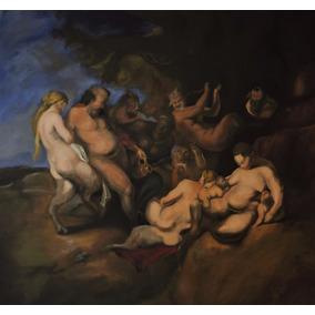 Pinturas Al Óleo. Reproducción De Obra Maestra Baccia