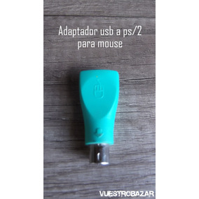 Vendo Adaptador De Usb A Ps/2 Para Mouse