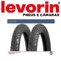 Pneu Tras 100/90-18 Levorin Azonic S/câmara Cg125/150/cbx