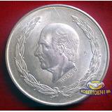 Moneda De Plata Cinco Pesos Hidalgo Año 1953