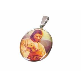 Medalla Religiosa De Acero Jesús Cordero De Dios