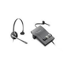 Diadema Con Amplificador Plantronics Hw111n-m22 Nuevos