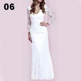 Belissimos Vestidos Em Renda Para Festa Noite Casamentos