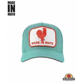 Boné Jãum Jãum Made In Mato Rooster Verde Estonado B0839