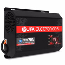Fonte Jfa Turbo 70 Amperes Digital Bivolt Similar Usina
