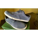 Zapatos Clarks Modelo Torbay Color Gris, Talla 42