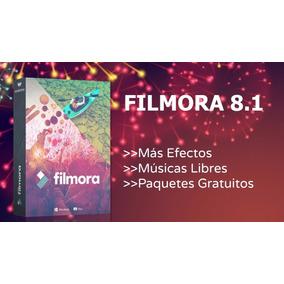 Editor De Vídeo Filmora V8.1