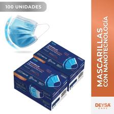 Mascarillas Tipo Il R Con Nanotecnología, 2 Cajas, 50 Un C/u