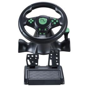 Volante 4x1 Xbox 360 Ps2 Ps3 Pc C/ Pedal E Cambio Js075 Mult