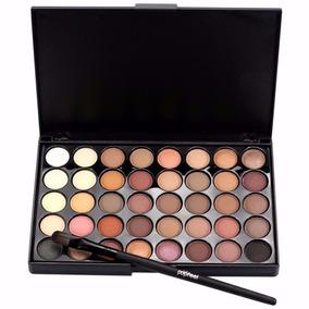 Paleta Maquiagem 40 Cores C/ Pincél - Sombra Olhos - Matte