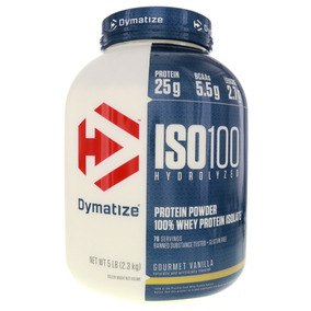 Whey Protein Iso 100 Dymatize 5lbs (2,3kg) - Novo Lote.