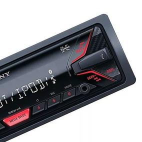 Som Carro Sony Radio Fm Usb Mp3 Pen Drive Cartão Sd Aux