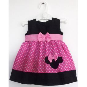 Vestidos Niña Minnie Salidas De La Clinica Talla 0 A 3 Meses