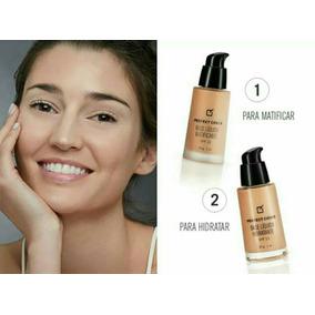 Maquillaje,base Liquida Hidratante Y Matificante,100% Yanbal