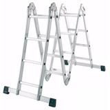 Escalera Aluminio Articulada 4.75 Mt Multiladder 4x4 Rosario