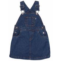 Carters Vestido Braga Tela Jeans Para Bebés Niña