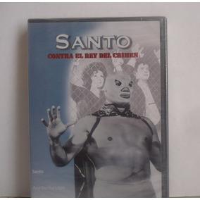 Santo Contra El Rey Del Crimen - Dvd Lucha Libre - Luchador