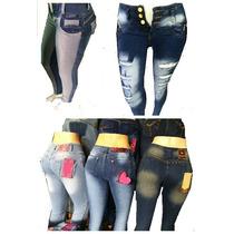 Jeans Elastizados Chupin. Levanta Cola Venta 12(doc)